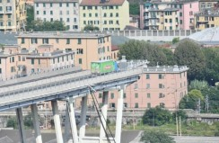 Pope writes to people of Genoa one year after collapse of Morandi Bridge