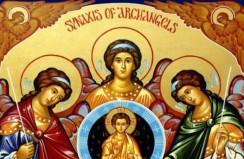 Sts. Michael, Gabriel, Raphael, Archangels